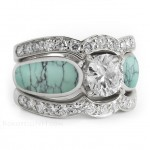 zoom turquoise engagement rings reviews