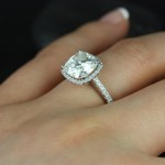 acrylic-ring-and-cushion-cut-diamond-engagement-rings-with-cute-diamond-ring-on-top