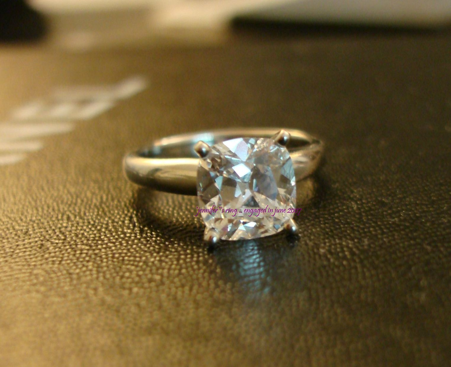 3 Carat Diamond Ring In Wedding And Engagement Rings Ebay