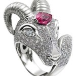 Aries wedding ring