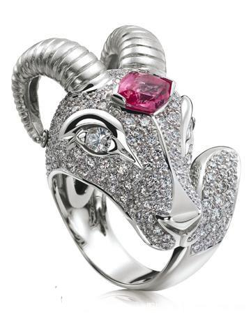 Personalize Your engagement ring – zodiac signs: Aries wedding ring