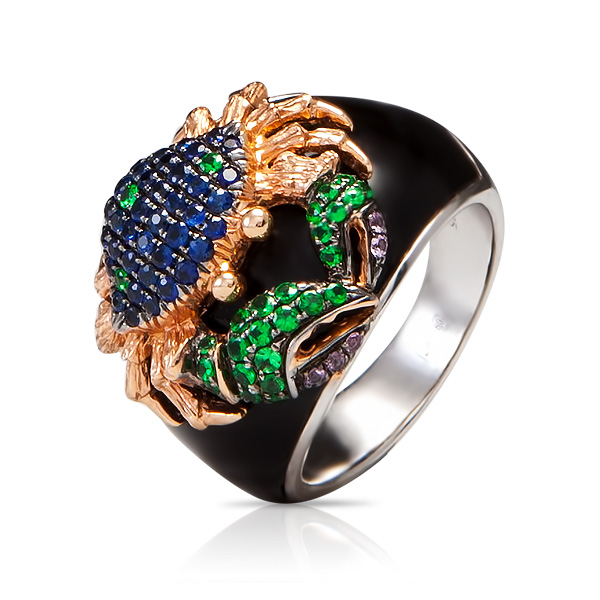Personalize Your engagement ring – zodiac signs: Cancer engagement ring