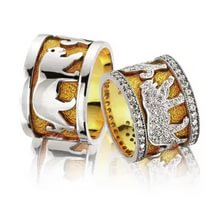Personalize Your engagement ring – zodiac signs: Lion zodiac engagement ringsi