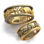 Taurus wedding rings