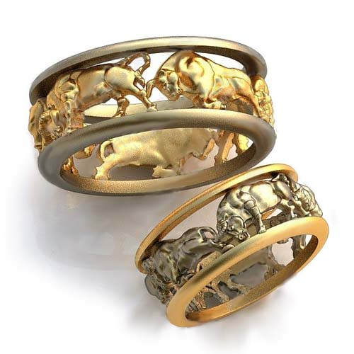 Personalize Your engagement ring – zodiac signs: Taurus wedding rings